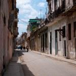 Typical street of Havana — Stock Photo