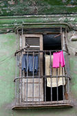 Balcon do antigo distrito de havana — Fotografia Stock