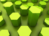 Geometrical reflected background — Foto Stock