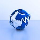 Globe and www — Stock Photo