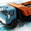 Transportation Money — Stock Photo
