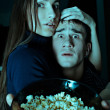 Stock Photo: Scary movie