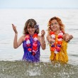 Girls in the water — Stock Photo #5545013
