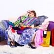 Shopaholic woman — Stock Photo #6450827