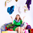 Shopaholic woman — Stock Photo #6450833