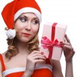 Stock Photo: Girl with present