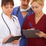 Врачи и медсестры — Стоковое фото #6734013