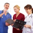 Two doctors and nurse — Stock Photo #6734036