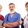 Doctors and nurse — Stock Photo