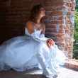 Bride near window — Stock Photo #6734388
