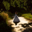 Bride in the park — Stock Photo #6734549