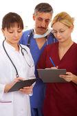 Doctors and nurse — Stock Photo