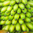 Stock Photo: Green bananas