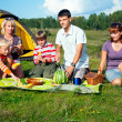 Family picnic — Stock Photo #5592347