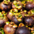 Purple mangosteen - Stock Photo