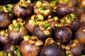 Purple mangosteen — Stock Photo