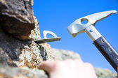 Climbing iron — Stock Photo