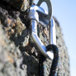 Stock Photo: Climbing iron