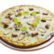 Pizza isolated — Lizenzfreies Foto