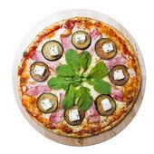 Pizza isolated — Stock Photo