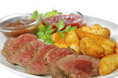 Fried meat — Stock Photo