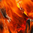 Flaming background — Stock Photo