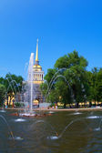Tower of Peter and Paul Fortress — Stock Photo