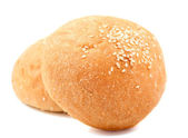 Bun with sesame seeds — Stock Photo