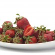 Strawberries in a dish — Stock Photo #5782865