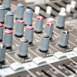 Stock Photo: Sound mixer