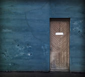 Vintage door — Stock Photo