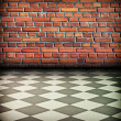 Vintage brick wall — Stockfoto