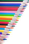 Multiicolored pensils — Stock Photo