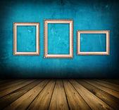 Blue room — Stock Photo