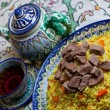 Royalty-Free Stock Photo: Uzbek pilaf