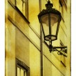 Prague's lantern — Stock Photo