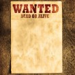 Wanted poster — Photo