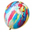 Painted colorful balloon - Stock Photo