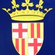 Barcelona emblem - Stock Photo