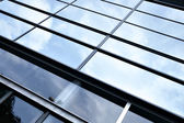 Clouds reflection — Stock Photo