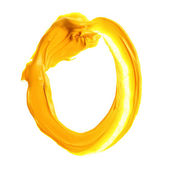 アルファベットを描いたカラフルなオイル — ストック写真