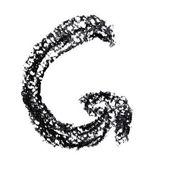 Alphabet écrites à la main — Photo