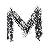 Alfabeto scritto a mano — Foto Stock