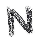 Alfabet odręcznie — Zdjęcie stockowe