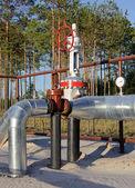 Pipeline Junction — Stock Photo