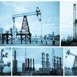 Stock Photo: Oil industry.