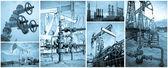 石油工业. — 图库照片
