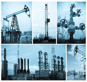 Oil industry. Oil extraction. — Stock Photo