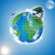 Model of Earth — Stockfoto