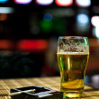 Beer and cigarette — Stock Photo #5931100